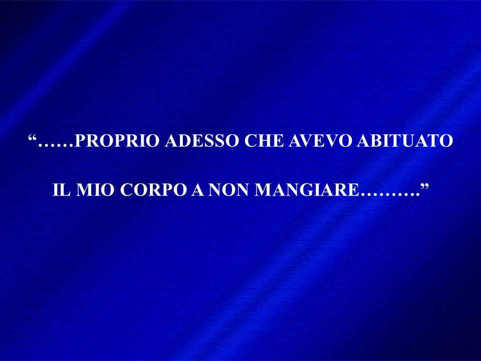 DIMISEM Perugia 2002 …informazioni spesso poco corrette e contraddittorie che non tengono conto del reale funzionamento del nostro corpo!