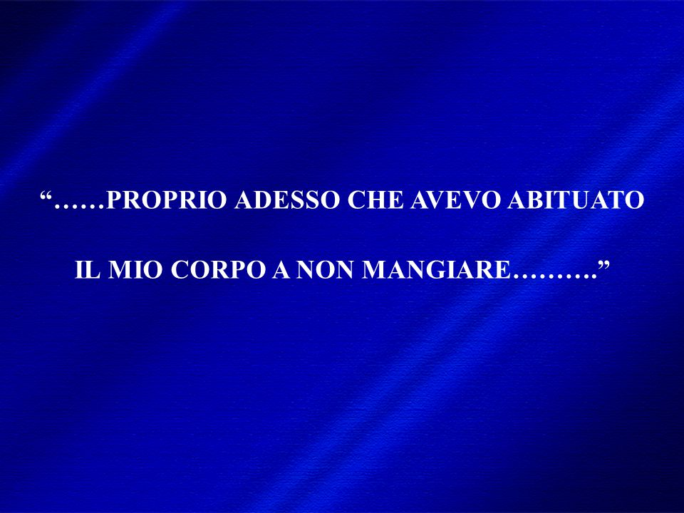 DIMISEM Perugia 2002 SIAMO DAVVERO LIBERI DI MANGIARE?