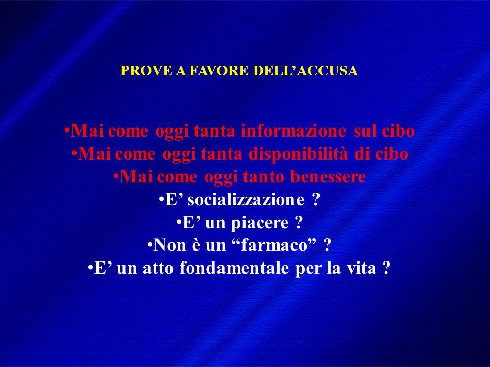 DIMISEM Perugia 2002 VALORI SIMBOLICI DEL CIBO (I)  Valore dell'attaccamento: autocura, consolatore, mediatore nel rapporto, modulatore di distanza e vicinanza  Valore dell'accudimento: offerta di cura in risposta alle richieste del bambino (es.