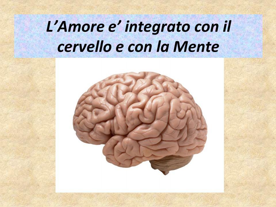 L'Amore e' integrato con il cervello e con la Mente