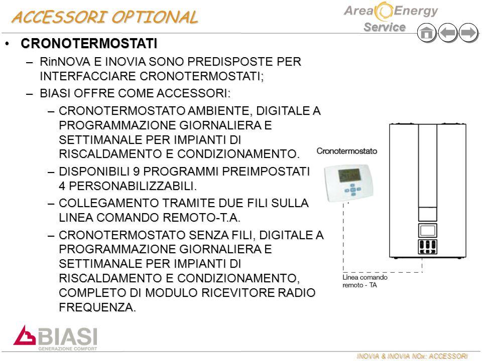 INOVIA & INOVIA NOx: ACCESSORI Service ESPULSIONE FUMI INOVIA NOx KIT FUMI SCARICO A TETTO 80/125KIT FUMI SCARICO A TETTO 80/125