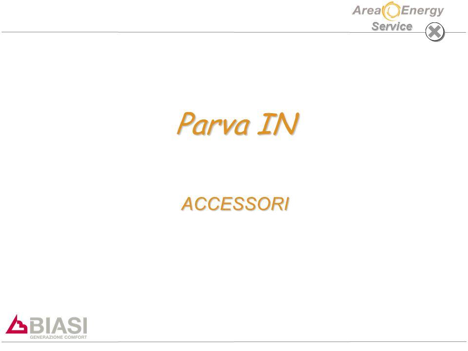 PARVA IN ACCESSORI Service CONNESSIONI IDRAULICHE