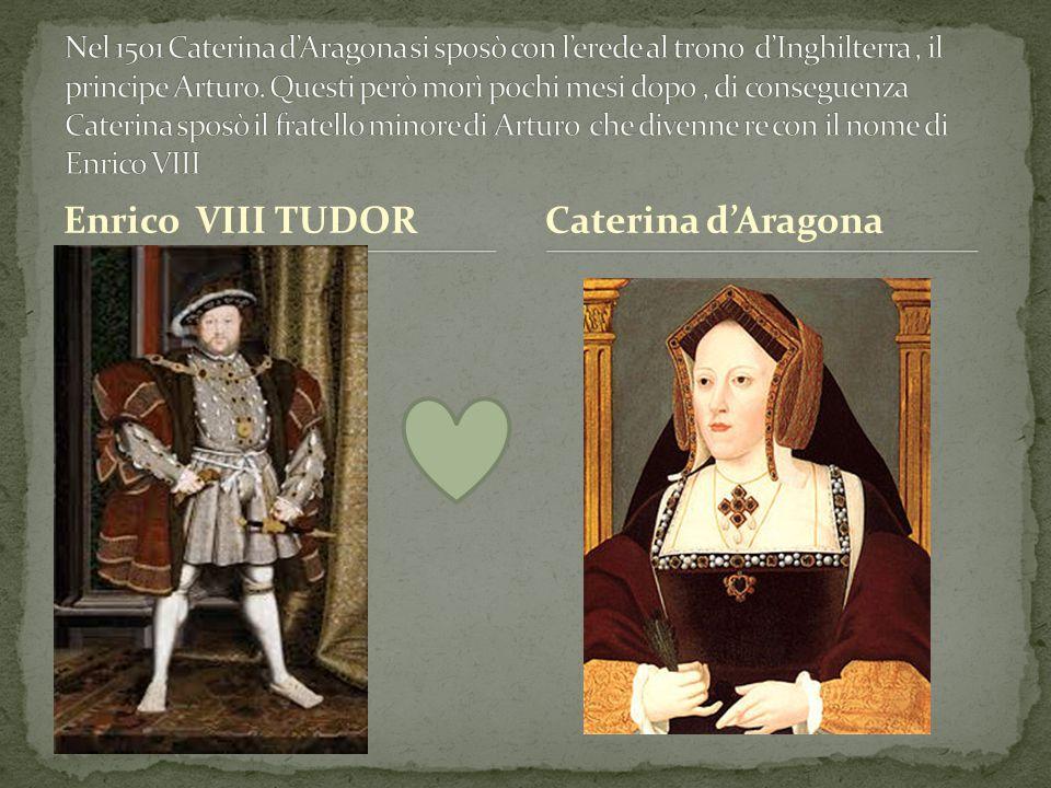 Enrico VIII TUDORCaterina d'Aragona
