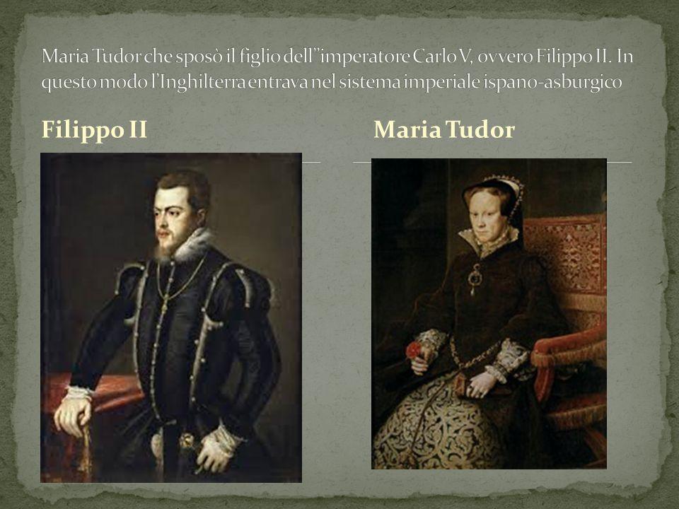 Filippo IIMaria Tudor