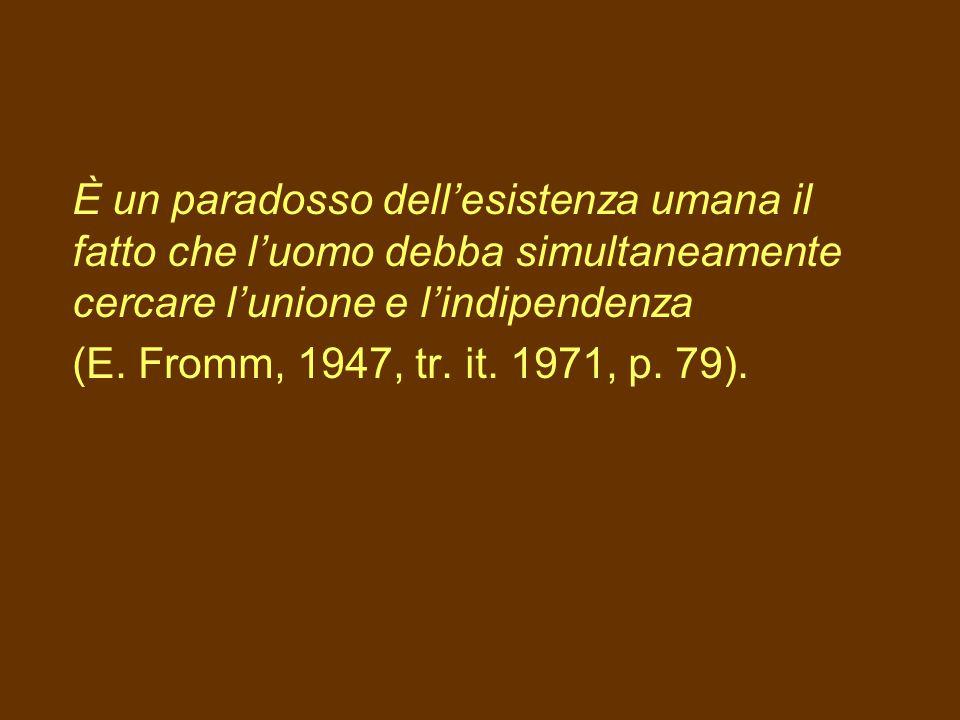 L'autonomia non è autosufficienza e mancanza di relazione M. Corsi (2003, p. 36)