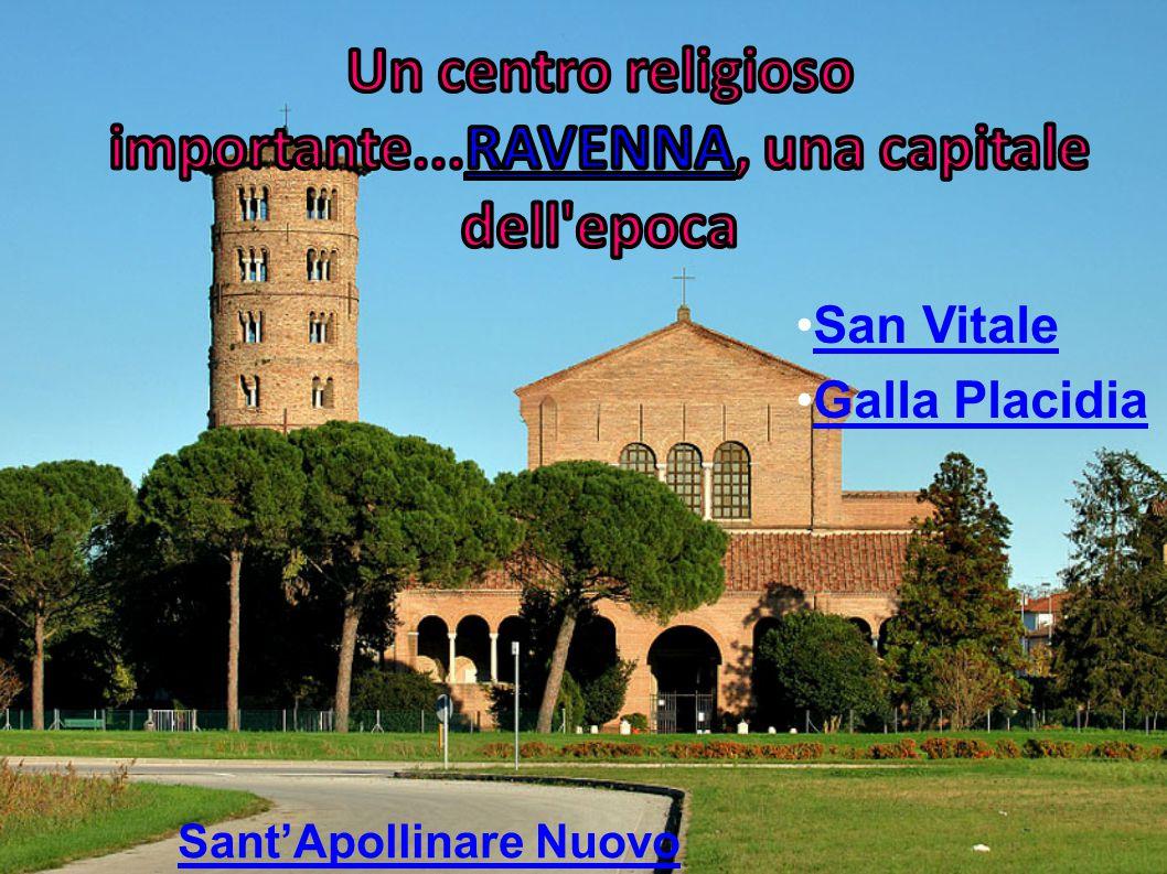 San Vitale Galla Placidia Sant'Apollinare Nuovo