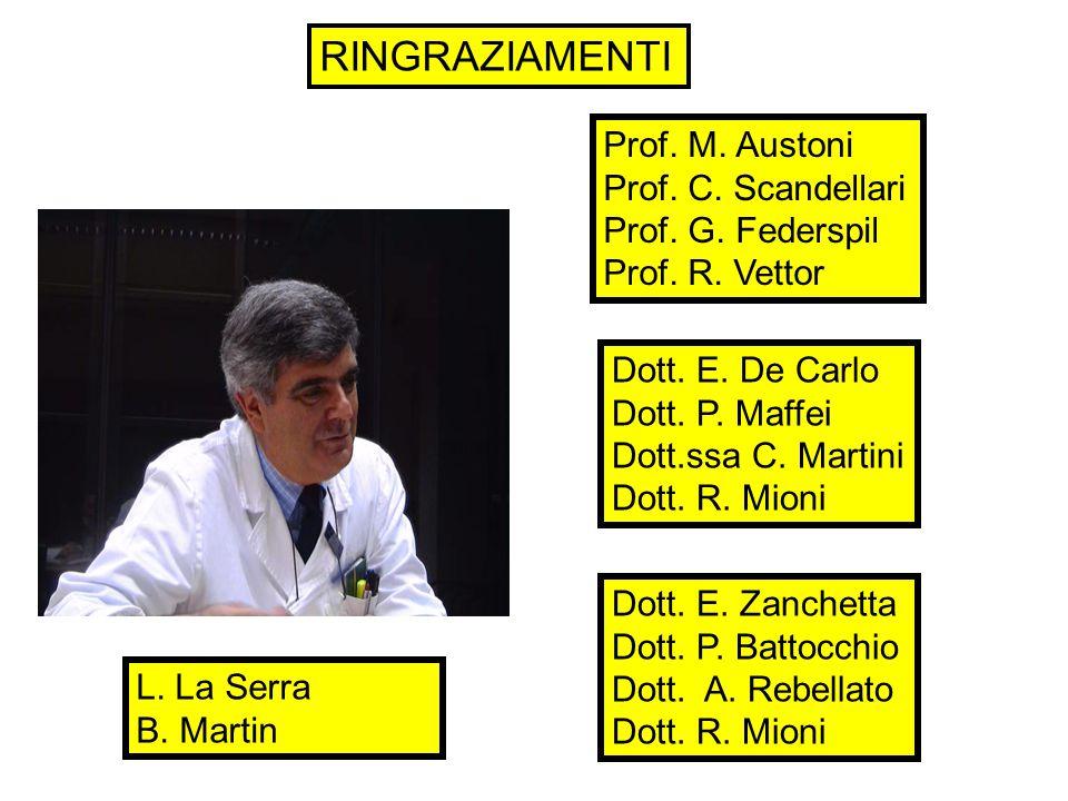 Prof. M. Austoni Prof. C. Scandellari Prof. G.