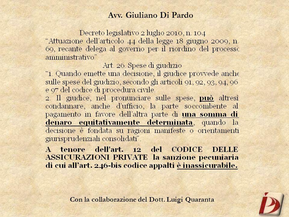 Avv. Giuliano Di Pardo
