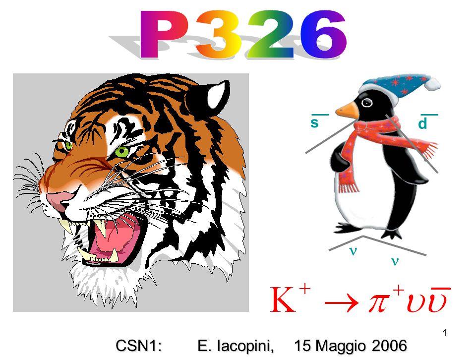 2 Ultimi risultati di NA48/2 Ultimi risultati di NA48/2 P326 R&D: P326 R&D: i) I tests previsti nel 2006; i) I tests previsti nel 2006; ii) dove siamo con i nostri detectors: ii) dove siamo con i nostri detectors: l'odoscopio, l'odoscopio, il sistema di veto, il sistema di veto, il Gigatracker il Gigatracker