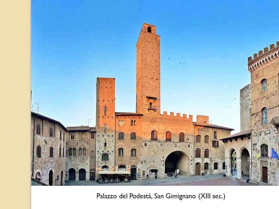 Palazzo del Podestà, San Gimignano (XIII sec.)