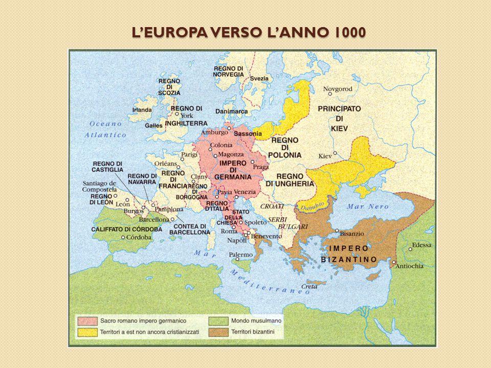 L'EUROPA VERSO L'ANNO 1000