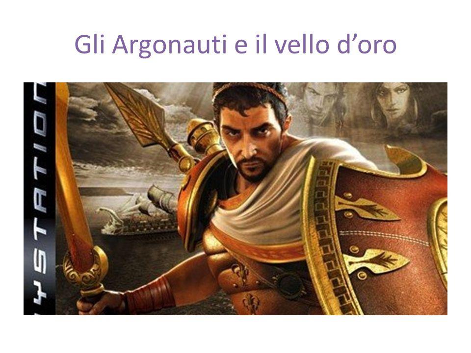 Gli Argonauti e il vello d'oro