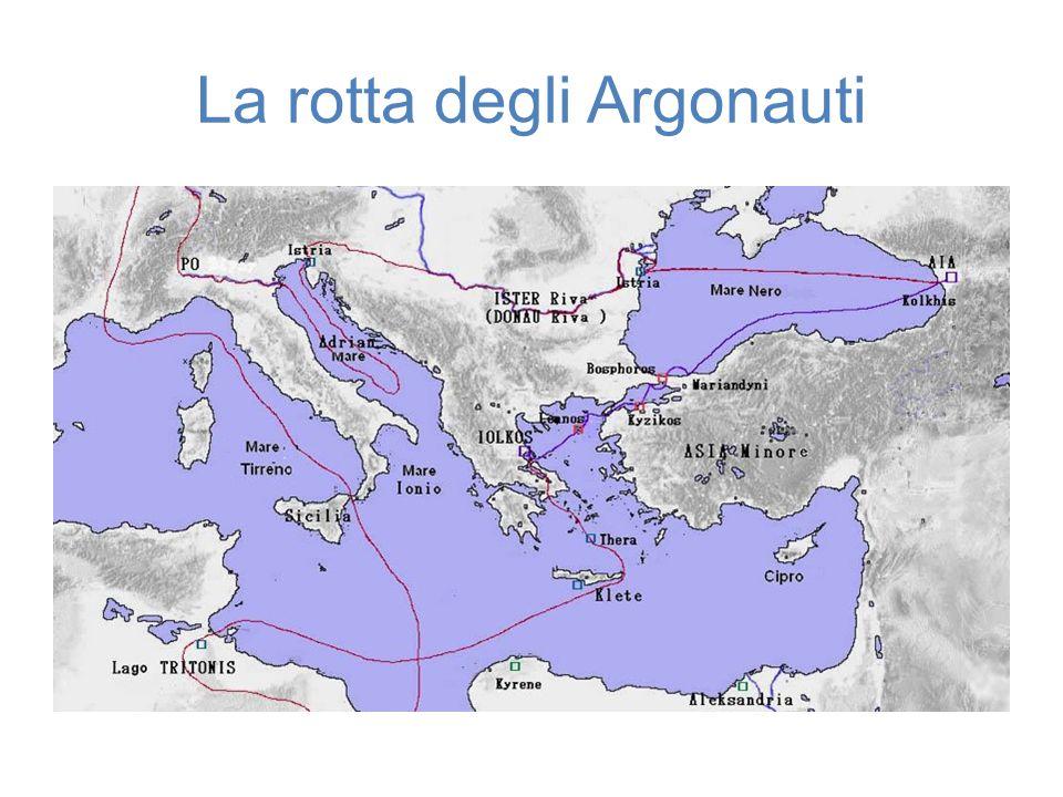 La rotta degli Argonauti