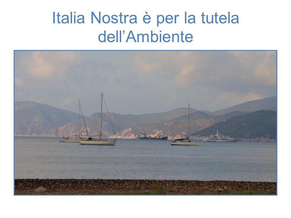 Italia Nostra è per la tutela dell'Ambiente
