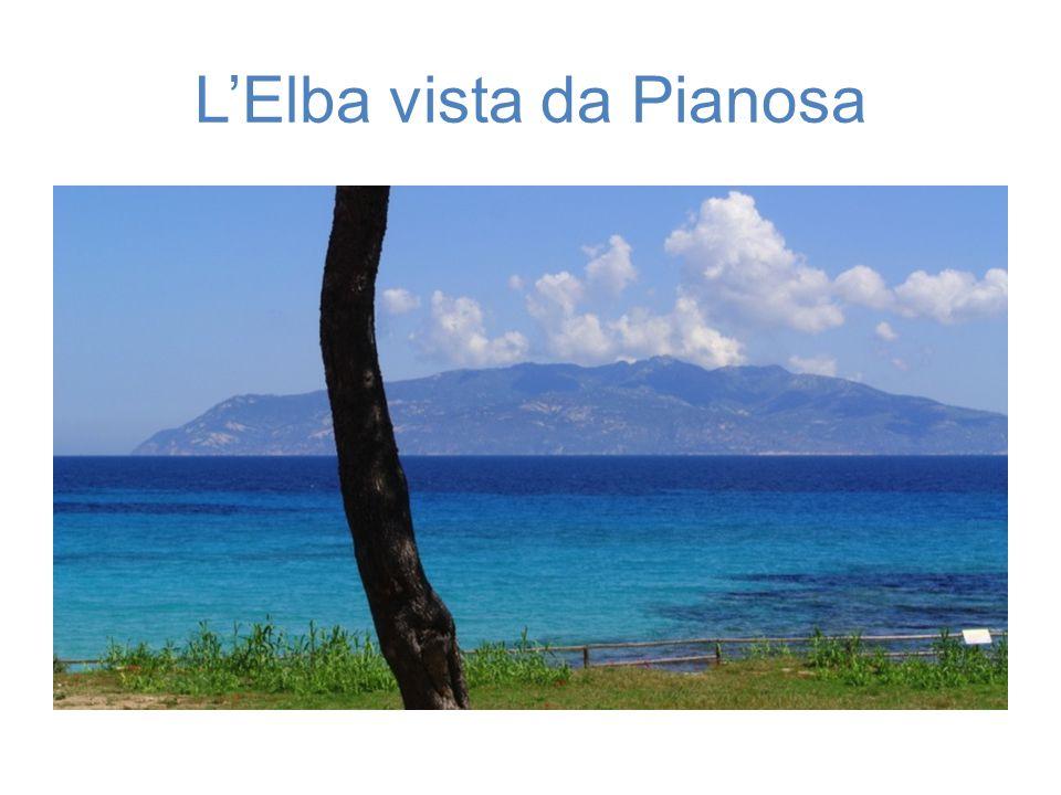 L'Elba vista da Pianosa