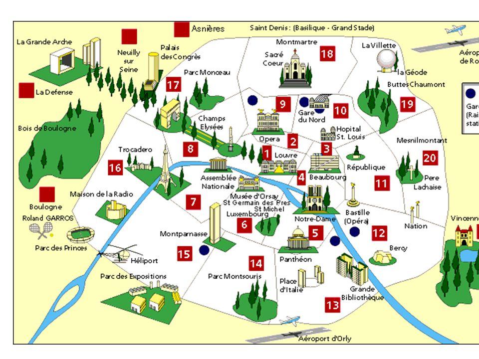La cattedrale è situata nella parte orientale dell'Île de la Cité, che si trova sulla Senna, nel centro della città di Parigi.