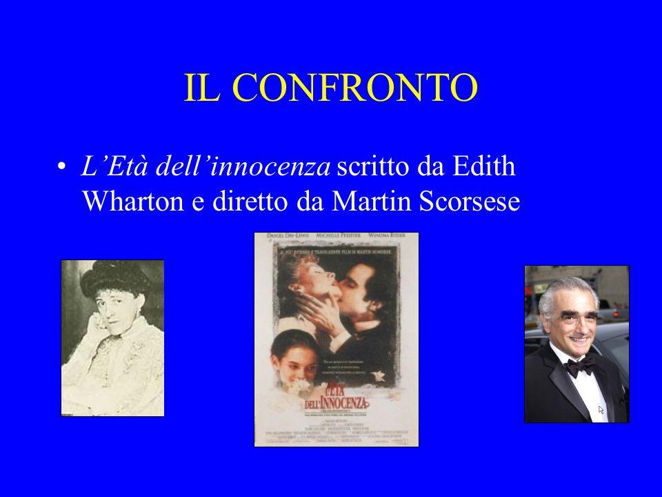 IL CONFRONTO L'Età dell'innocenza scritto da Edith Wharton e diretto da Martin Scorsese