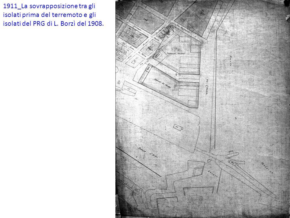 Tra la Dogana e l'isolato 301 bis: A_Area del Museo della città; B_Vuoto da progettare; C_Vuoto da progettare