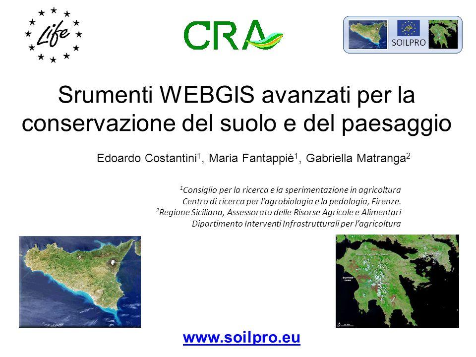 Portale: www.soilpro.eu