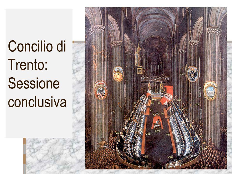 Concilio di Trento: Sessione conclusiva