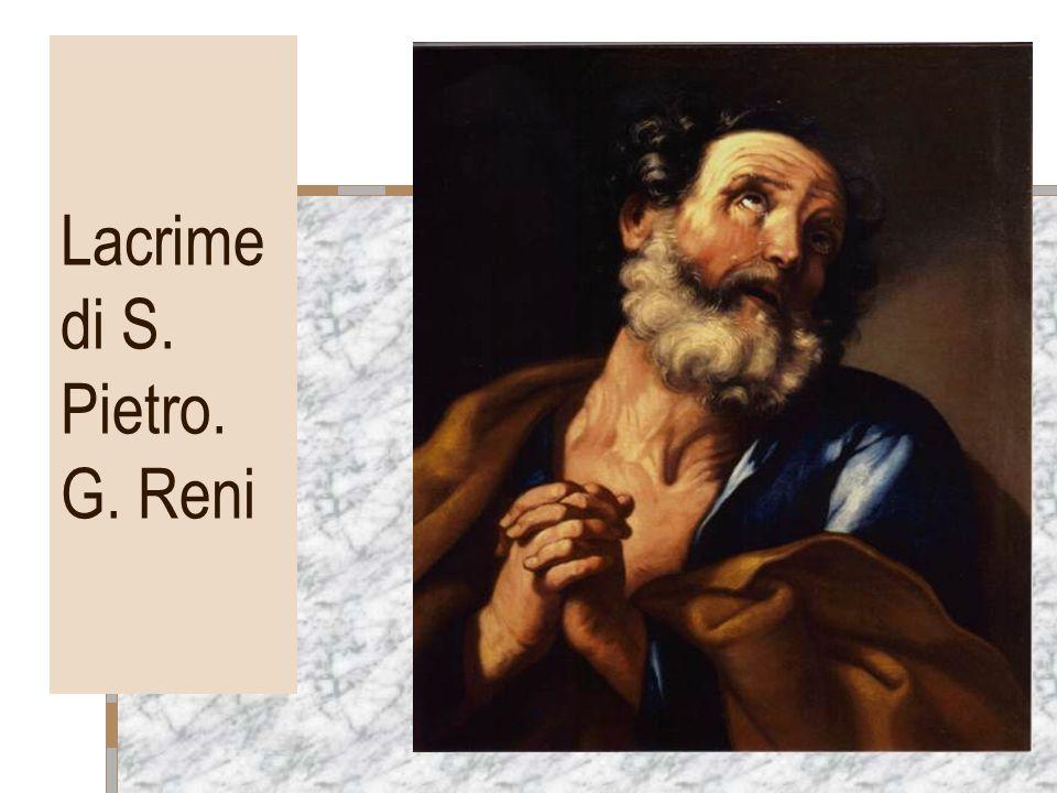 Lacrime di S. Pietro. G. Reni