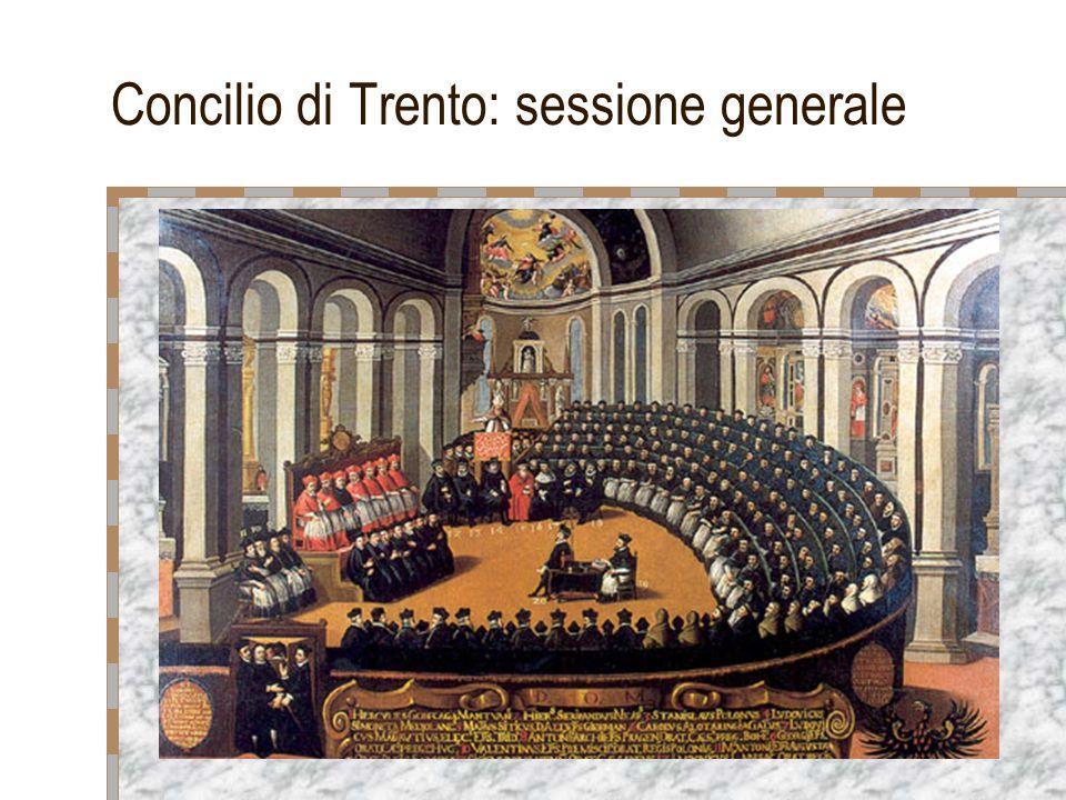 Concilio di Trento: sessione generale