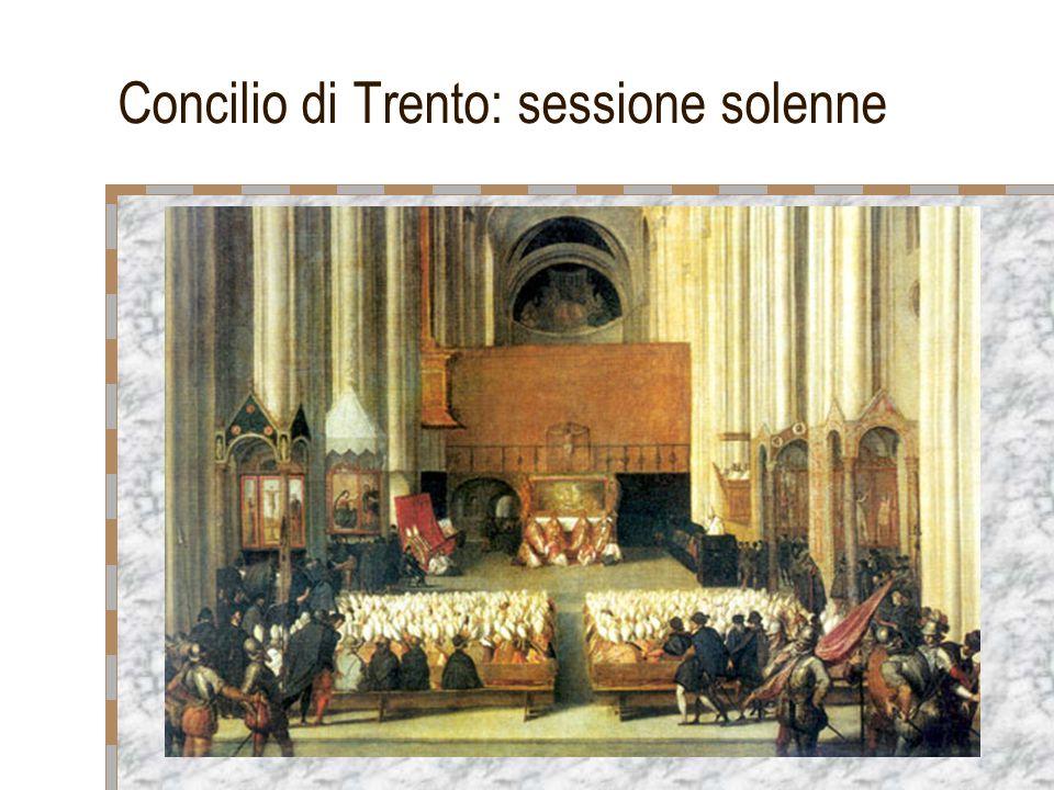 Concilio di Trento: sessione solenne