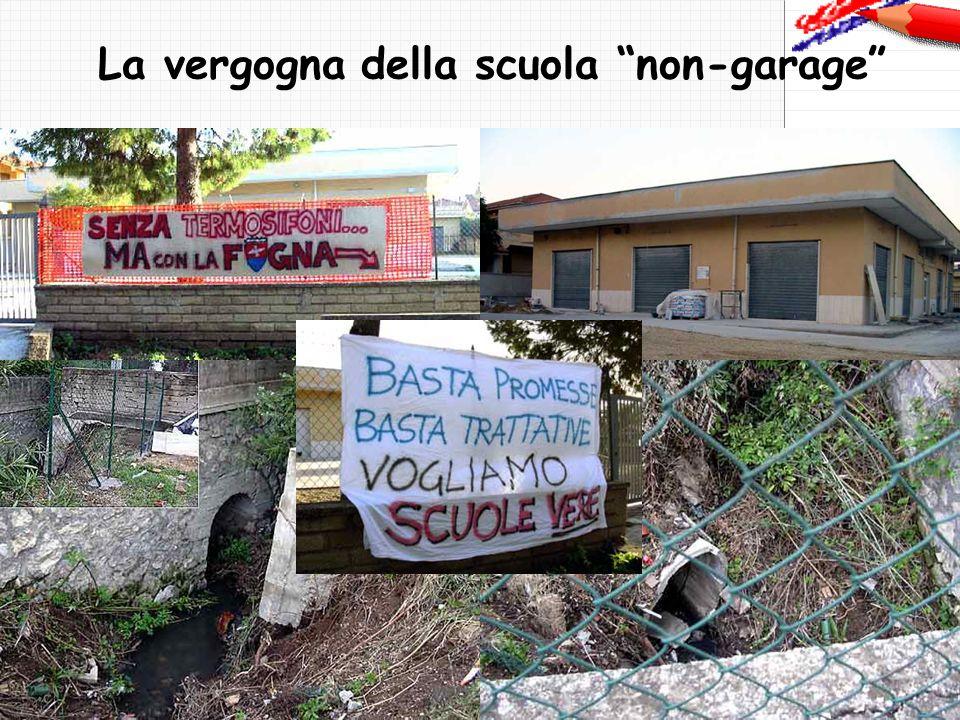 La vergogna della scuola non-garage