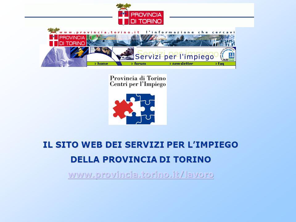 Il sito web SERVIZI PER L'IMPIEGO è uno strumento di informazione e comunicazione in materia di lavoro