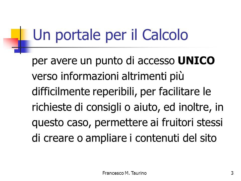 Francesco M. Taurino 14