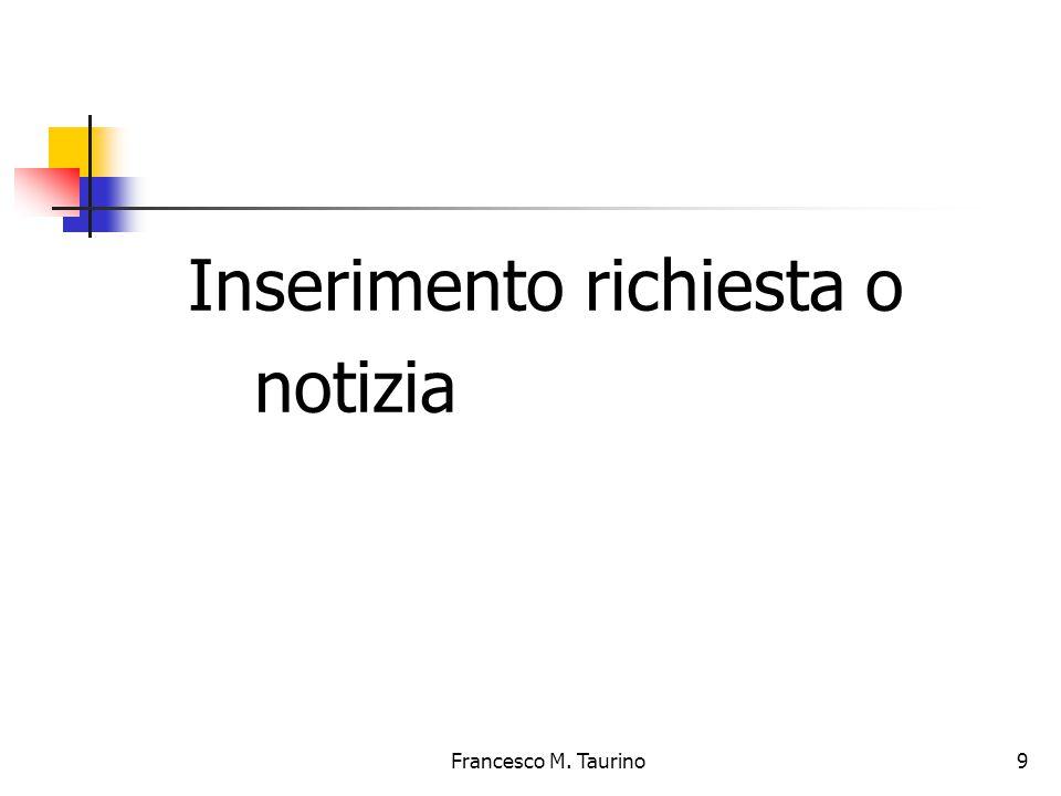 Francesco M. Taurino 10