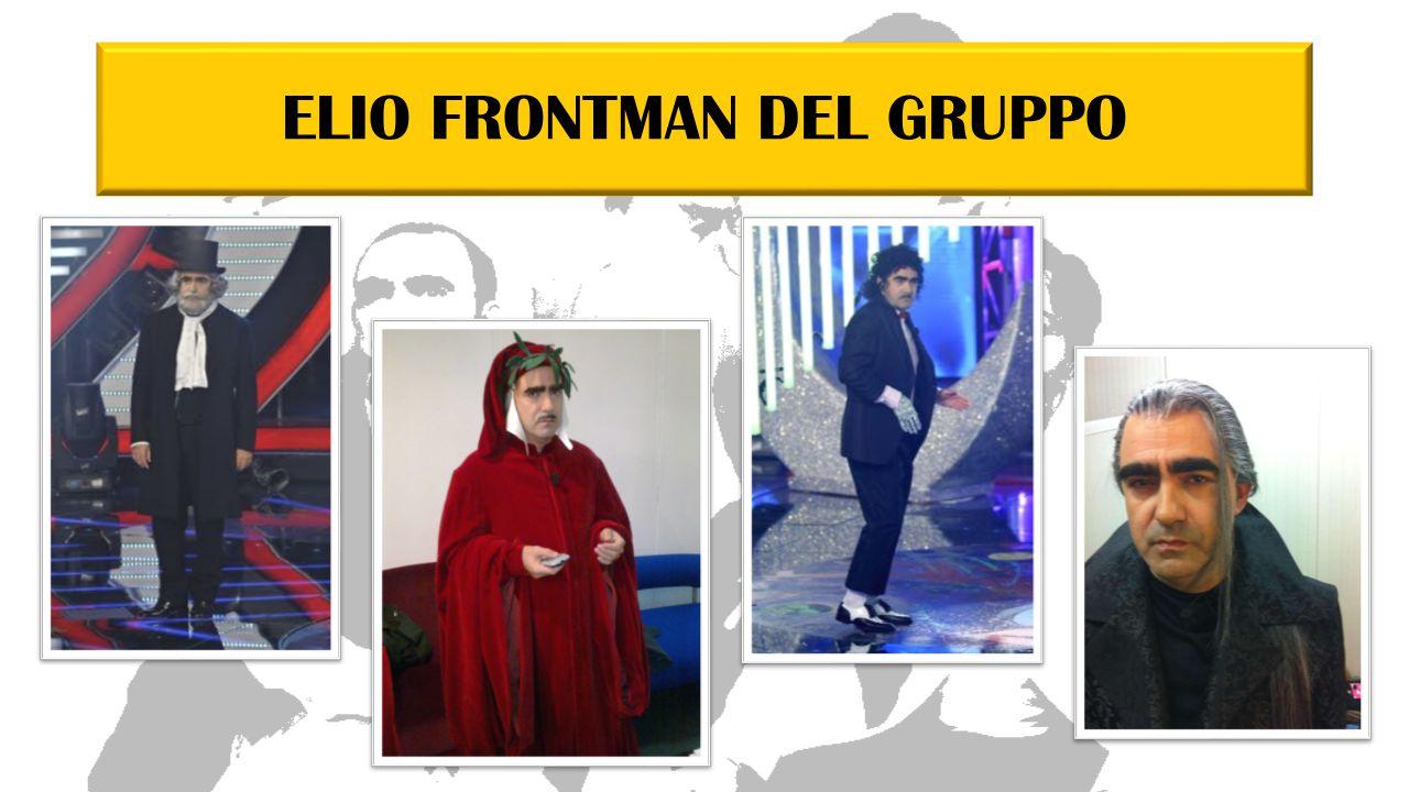 ELIO FRONTMAN DEL GRUPPO