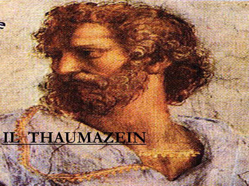 IL THAUMAZEIN