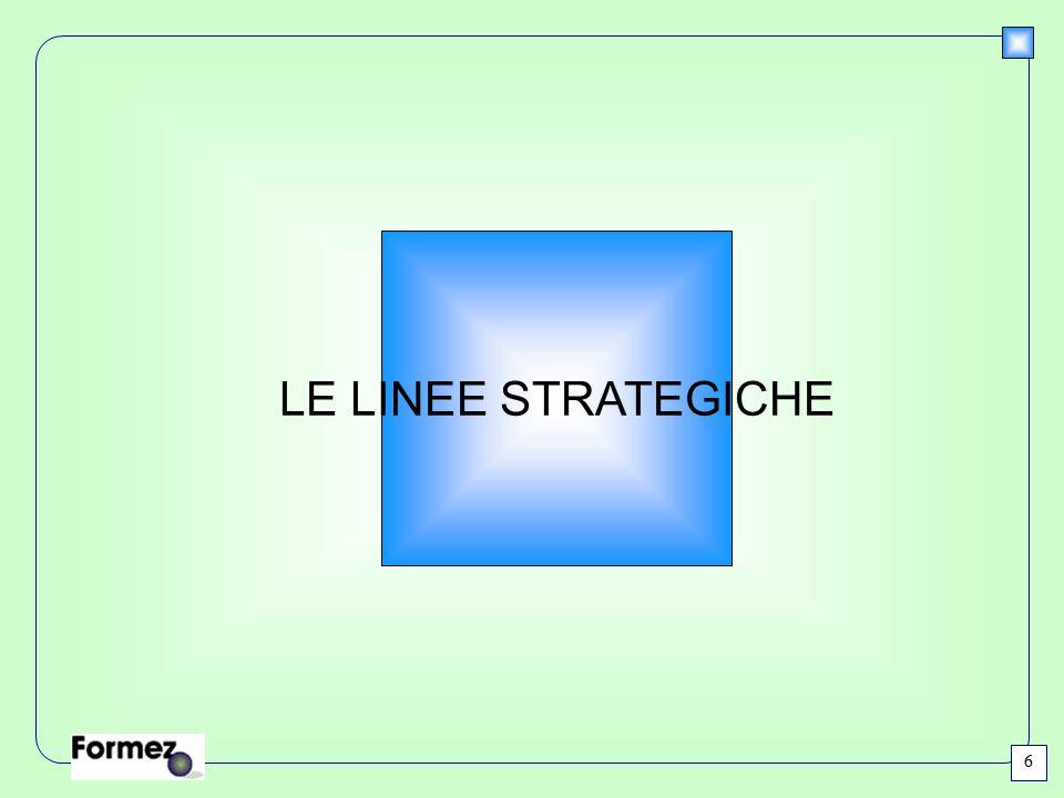 LE LINEE STRATEGICHE 6