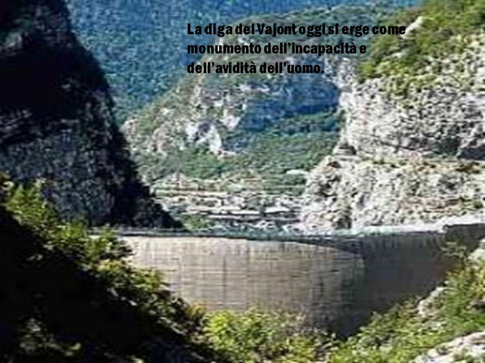 L'umanità è diventata l'antagonista dell' ambiente: il 9 Ottobre 1963, al Vajont ci hanno rimesso la vita 2000 persone.