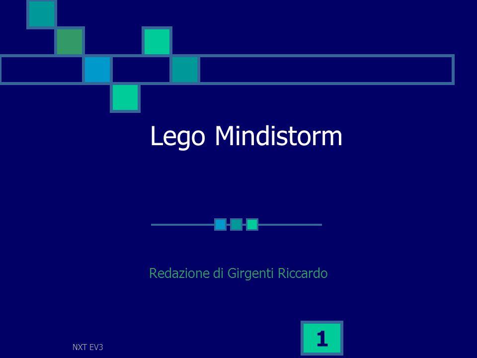 NXT EV3 1 Lego Mindistorm Redazione di Girgenti Riccardo