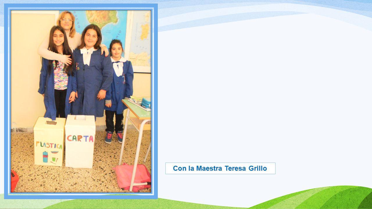 Con la Maestra Teresa De Lorenzo