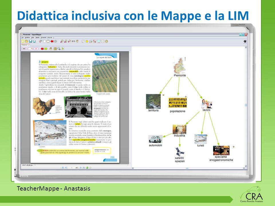 TeacherMappe - Anastasis Didattica inclusiva con le Mappe e la LIM