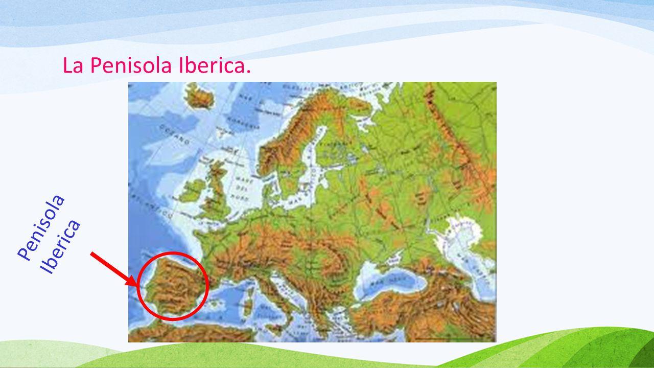 La Spagna.La Spagna occupa oltre l'80% della Penisola Iberica.