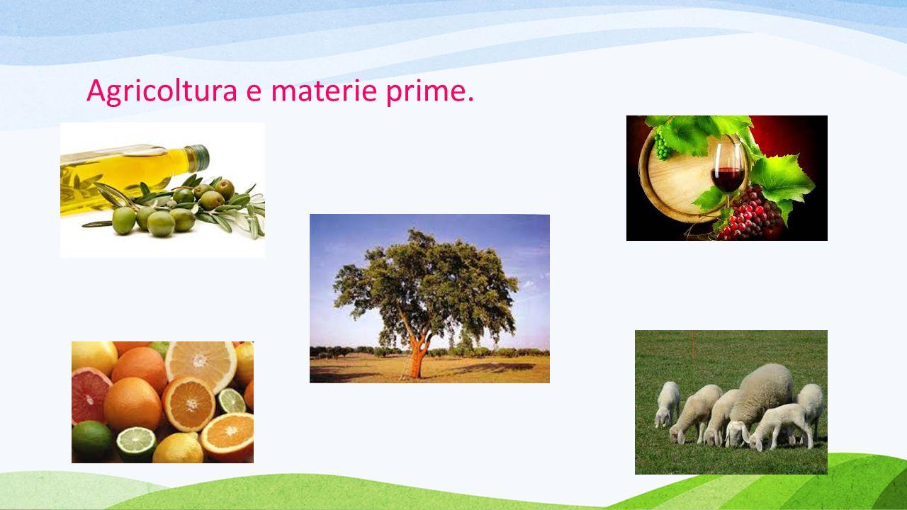 Agricoltura e materie prime.