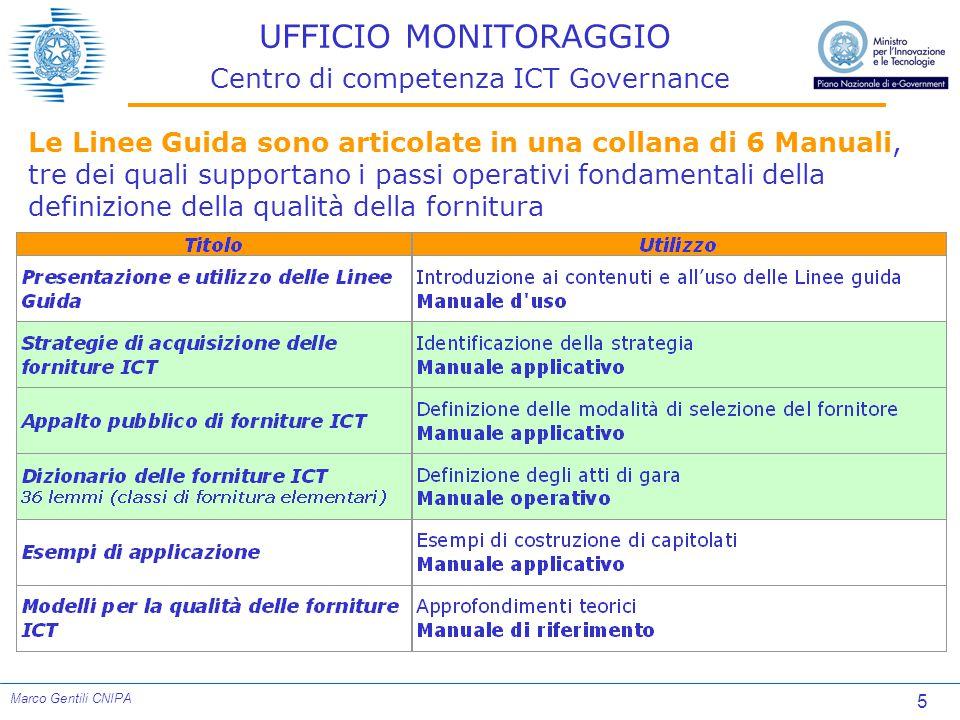 16 Marco Gentili CNIPA AVANZAMENTO LAVORI Distribuzione progetti 25% 0%100%80%60%40%20%0%100%80%60%40%20% 1%21%72% 100% 72% 42% 2%25% 100% 85% 48% 3%32% 96% 100% 58% 15 Set 04 30 Nov 04 28 Feb 05