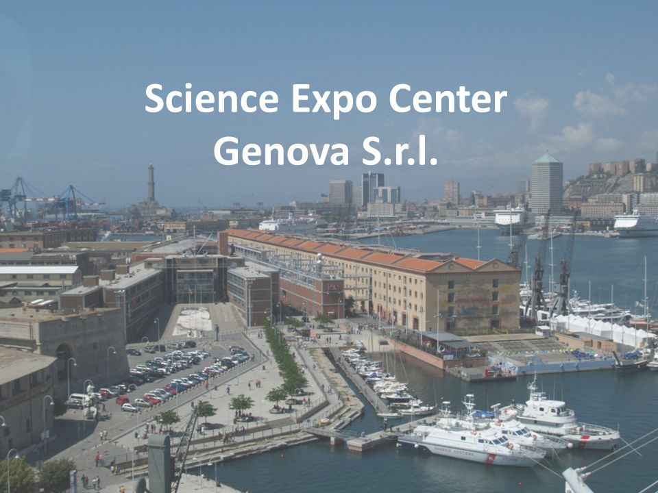 Science Expo Center Srl Science Expo Center Genova S.r.l.