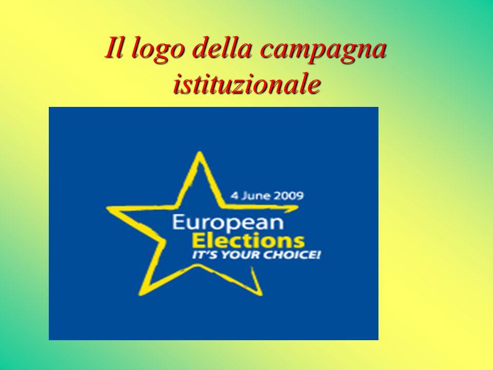 Il logo della campagna istituzionale Campaign logo 11