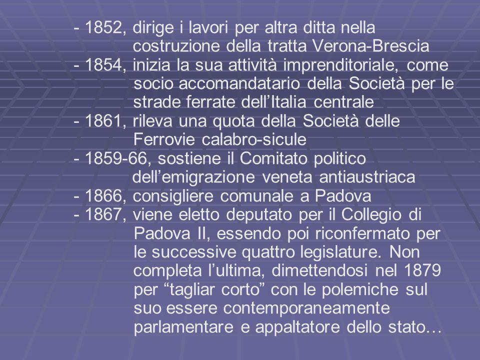   Nel 1872 egli aveva infatti fondato la S.A.