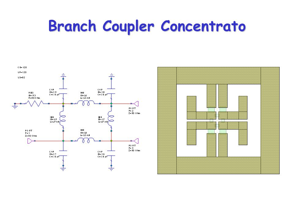 Branch Coupler Concentrato