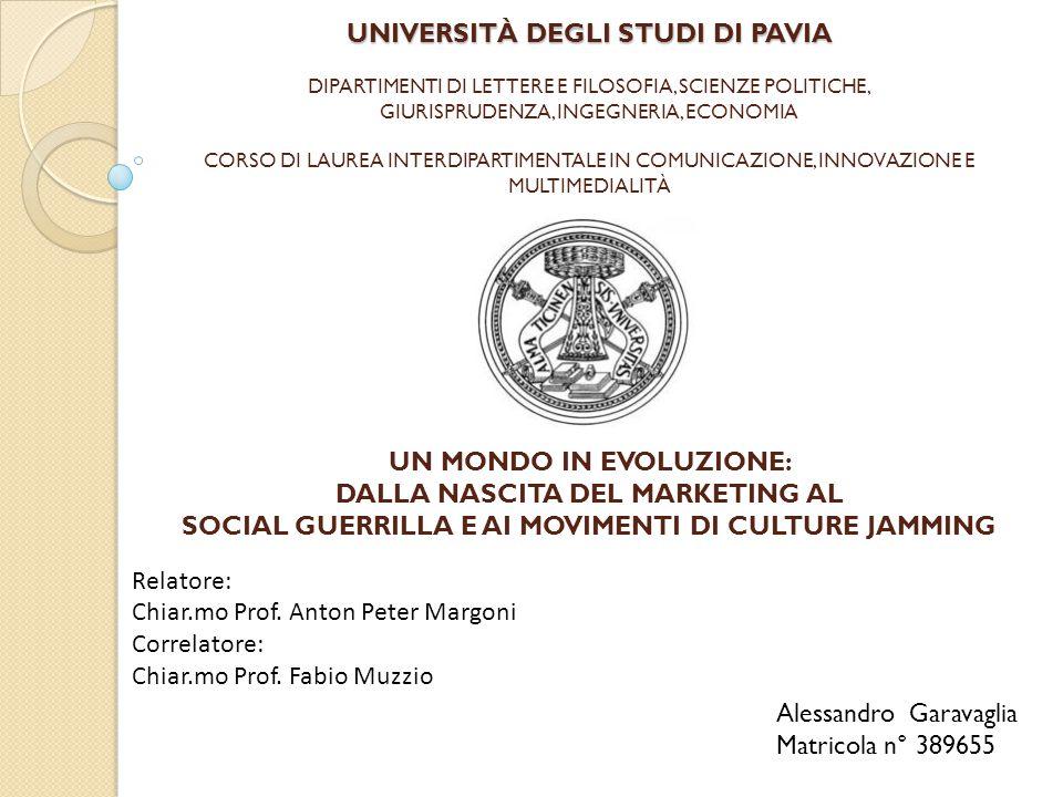 UNIVERSITÀ DEGLI STUDI DI PAVIA UNIVERSITÀ DEGLI STUDI DI PAVIA DIPARTIMENTI DI LETTERE E FILOSOFIA, SCIENZE POLITICHE, GIURISPRUDENZA, INGEGNERIA, EC