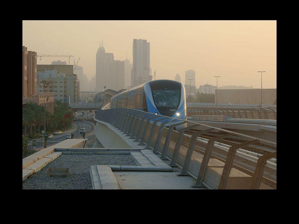 Conosci l incredibile metro di Dubai I treni sono automatici e non hanno bisogno di operai.
