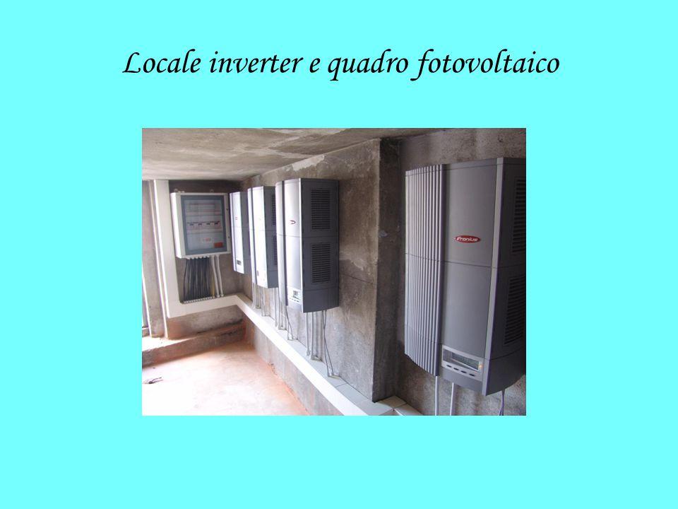 Locale inverter e quadro fotovoltaico