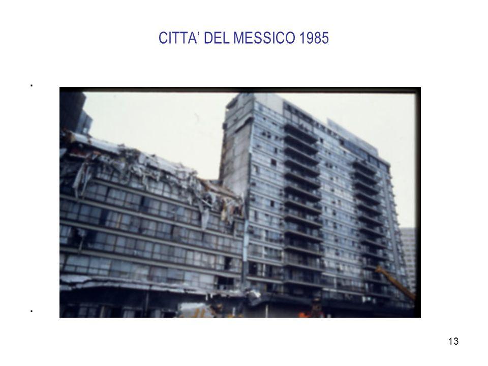 13 CITTA' DEL MESSICO 1985....