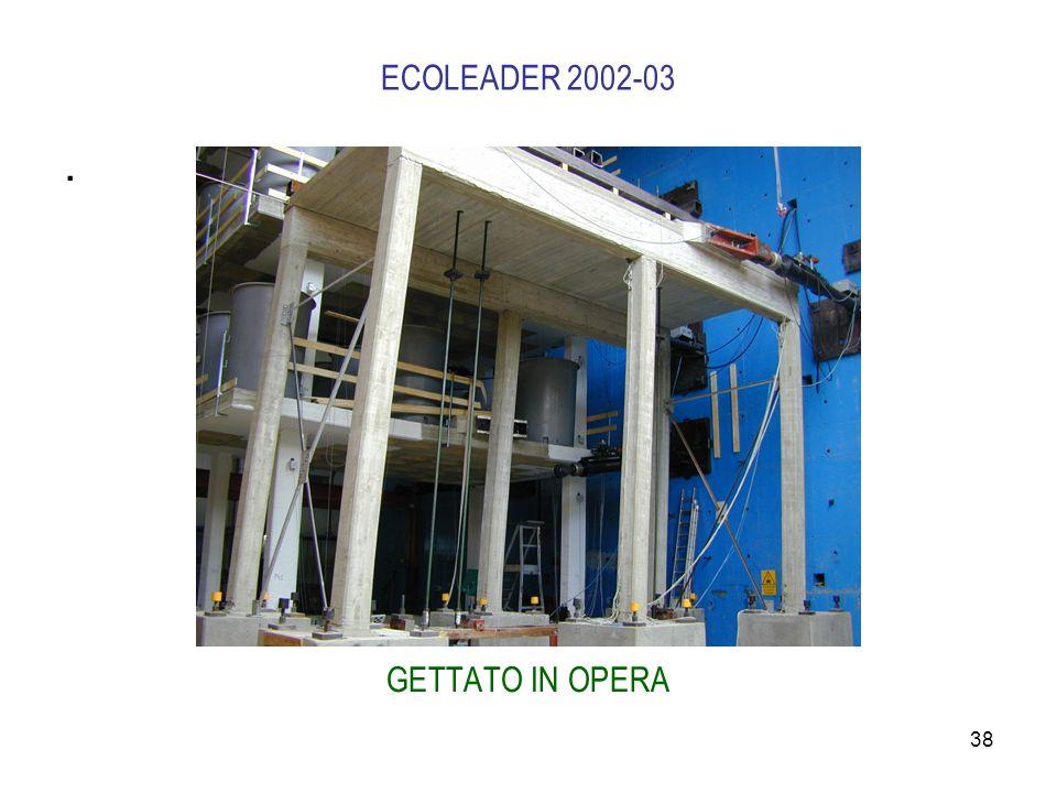 38 ECOLEADER 2002-03. GETTATO IN OPERA